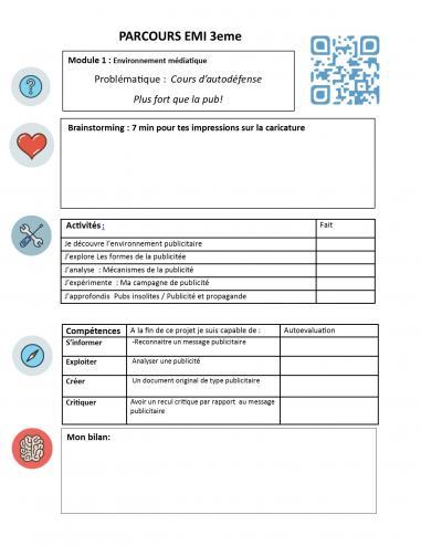 Contrat de recherche 3eme 3