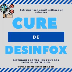 Cure de desinfox