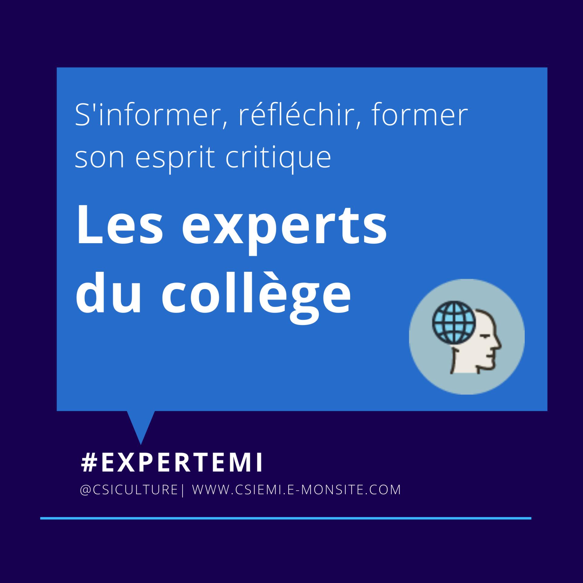 Les Experts du collège
