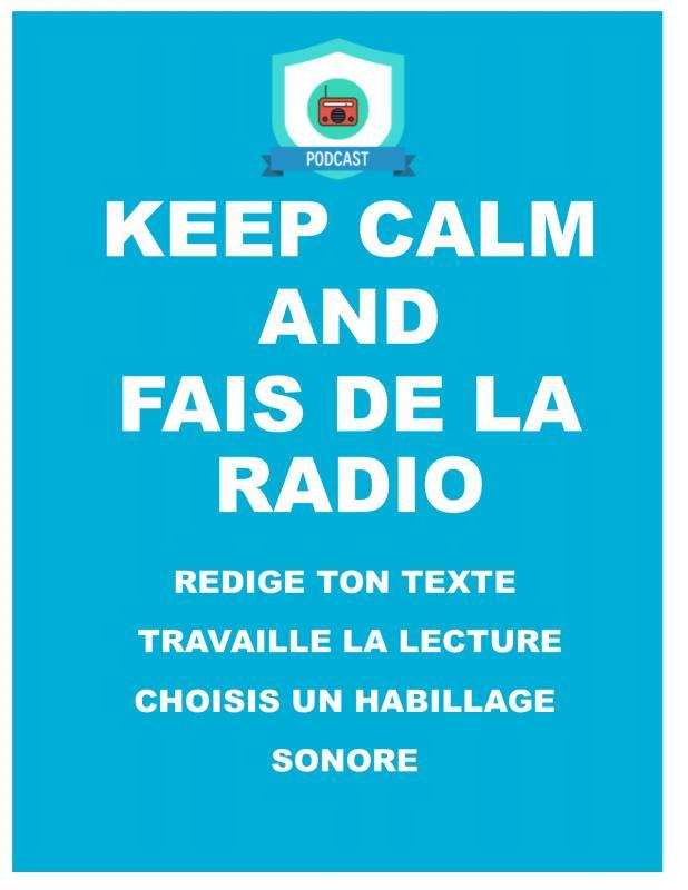 Keep calm radio